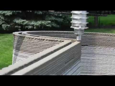 3D Printed Concrete Castle