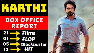 Karthi Hit And Flop All Movies List With Box Office Collection Analysis