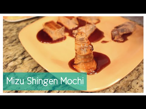 Mizu Shingen Mochi (Invisible Mochi) | Juli's Kitchen