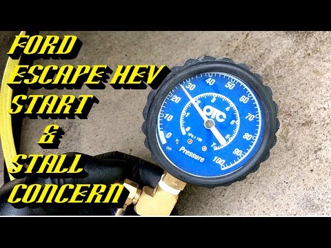 Ford Escape Hybrid Shuts Off While Driving: STOP SAFELY NOW P1A10 P1A0C P0087