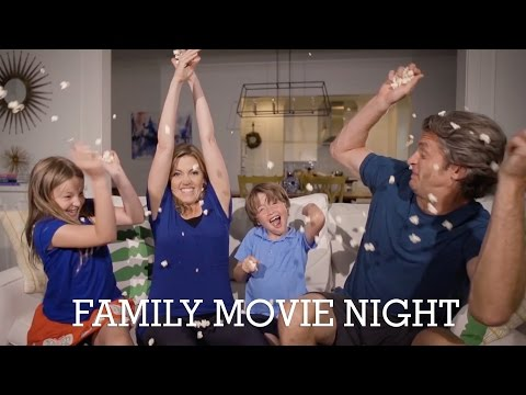 Family Movie Night with Kung Fu Panda 3 #ad   The Holderness Family