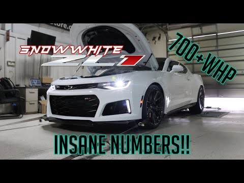 Dynoed the ZL1! These numbers are INSANE!!