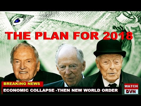 2018 the DATE the ROTHSCHILD BANKERS PLAN to END AMERICA