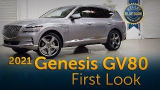 2021 Genesis GV80 | First Look