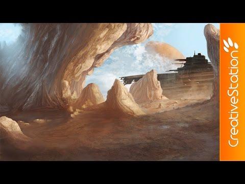 Crash Site - Speed Painting (#Photoshop) | CreativeStation