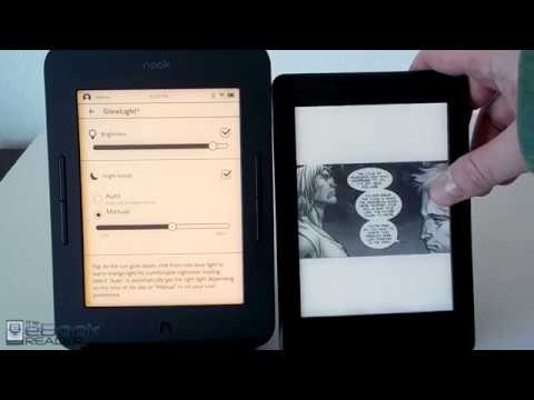 Kindle Paperwhite 3 vs Nook Glowlight 3 Comparison Review
