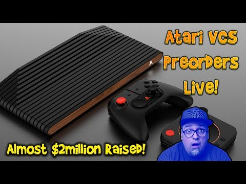 Atari VCS Preorders Live! Close To $2,000,000 Raised In A Few Hours!