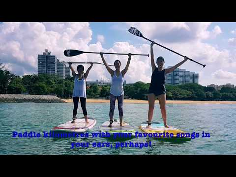 Stand Up Paddling (SUP) Lessons Singapore