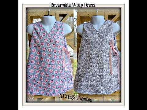 How To Make A Reversible Wrap Dress