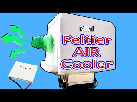 Air cooler Using peltier module|How to make