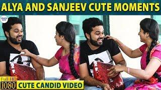 Alya Manasa and Sanjeev's Cute Candid Moments   PaapuKutty   LittleTalks