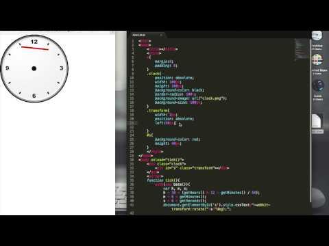 Coding an Analog Clock