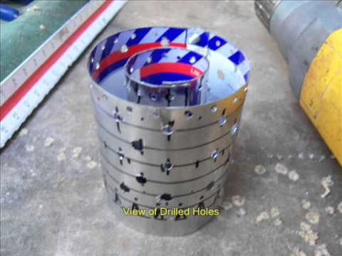 Tin Can Turbine Burning Chamber Build