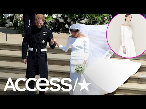 Meghan Markle's Royal Wedding Dress Is Strikingly Similar To Another Design | Access