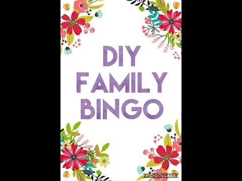 Family Bingo DIY