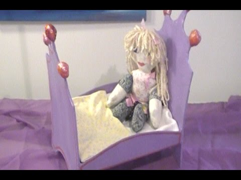 3 Simple Steps to Make a Paper Mache Doll Bed