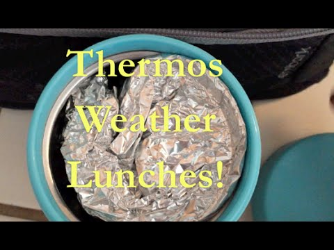 Thermos Lunch Weather | School Lunches