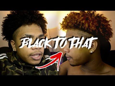 HOW TO DIP DYE YOUR HAIR BLONDE (Men's Tutorial) (Odell Beckham Jr)