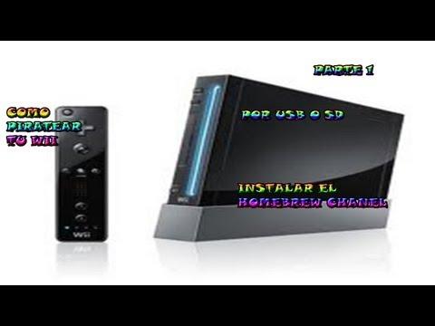 Como Hackear tu Wii Por Usb o Sd Part.1   Instalar Homebrew channel