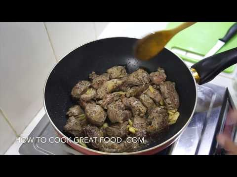 Chinese Stir Fry Beef Recipe - Oyster Sauce - Super Easy n Tender
