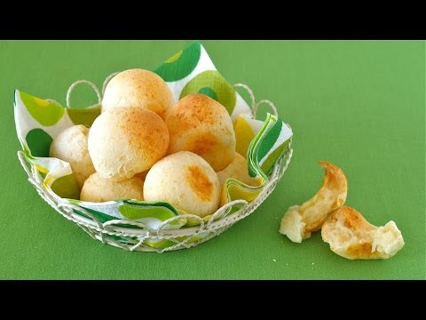 How to Make NO EGG Japanese-Style Pão de Queijo (Olympic Snack Idea) 白玉粉でポンデケージョ (オリンピック応援レシピ)