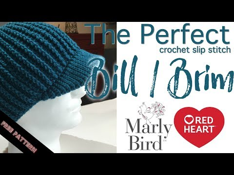 Perfect Crochet Slip Stitch Brim