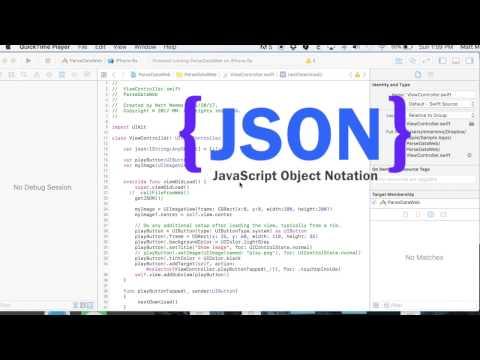 JSON Serialization Swift 3