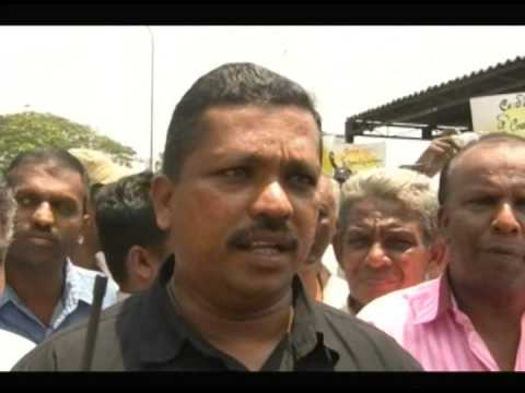 Ceylon Electricity Board Trade Union Collective Protest against Electricity Bill