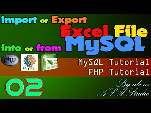 Import or Export Excel File into or from MySQL, 2, Create Validation of CSV File, Excel PHP Tutorial