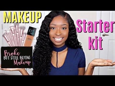 Beginner Makeup Tips & Starter Makeup Kit   Drugstore FAVES WOC Friendly