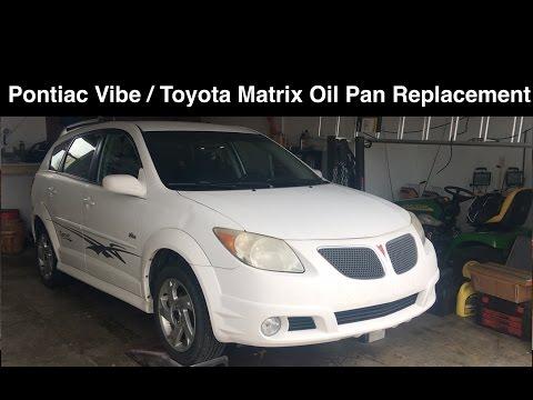 Pontiac Vibe / Toyota Matrix Oil Pan Replacement