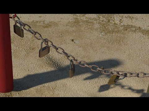 3DS Max Chain Links - 3DS Max Simple Animation