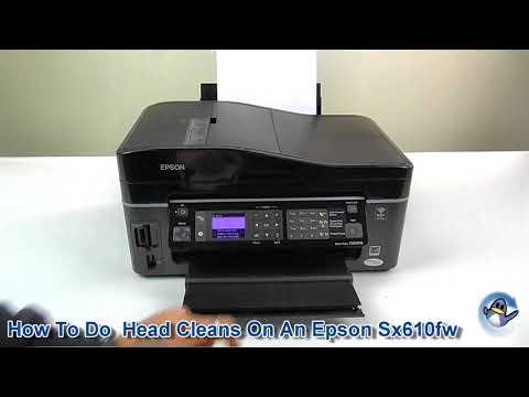 How To Do A Head Clean On An Epson Stylus SX610FW