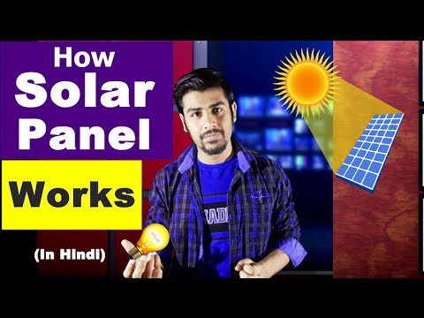 How Solar Panel Works ? | Practical | Explained in (Hindi)