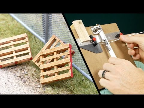 Realistic Details for Model Railroad Scenery – Pallets