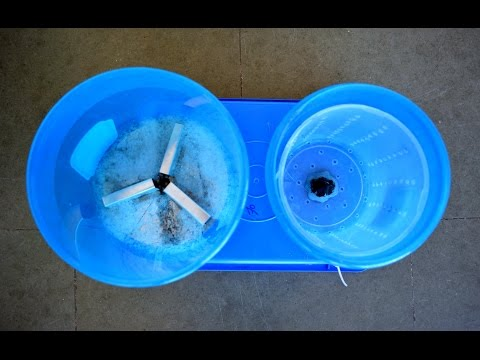 How to make washing machine at home - Cool Science Project