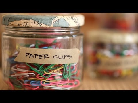 How to Upcycle Glass Jars