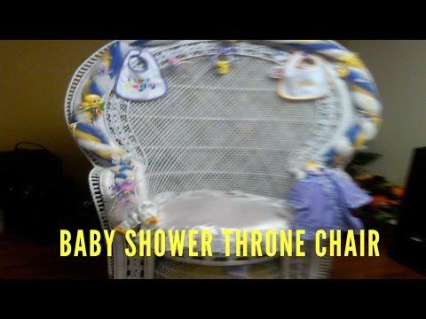Baby Shower Throne Chair