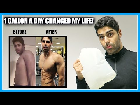 My INCREDIBLE Results Of Drinking 1 Gallon Of Water A Day