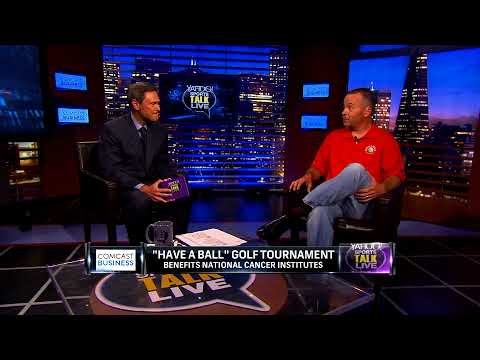 Yahoo Sports Talk Live with Bob Hammer for Have A Ball Golf Foundation