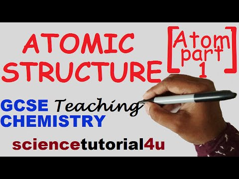 Atomic structure, Part 1  GCSE Chemistry Science