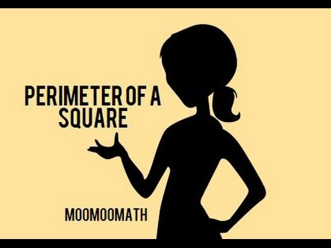 Perimeter of a square-Geometry Help-MooMooMath