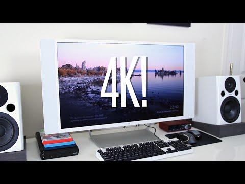My New 4K Monitor! (HP Spectre 32 Studio Display)