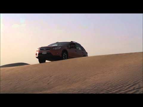 Subaru XV(Crosstrek) Driving in Sand Dunes (Off Road Test) 2