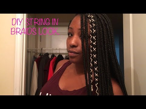 DIY BRAID ACCESSORIES | THAT STRING THING.