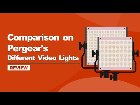 Best Budget LED Video Lights for photography