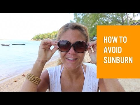 How to avoid sunburn without the use of sunscreen