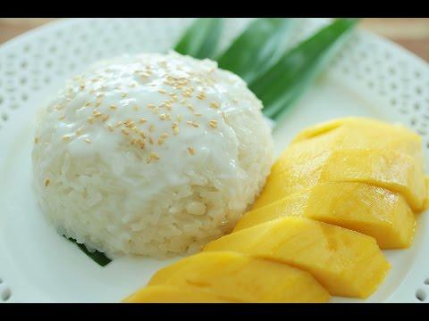 Mango Sticky Rice - 芒果糯米饭