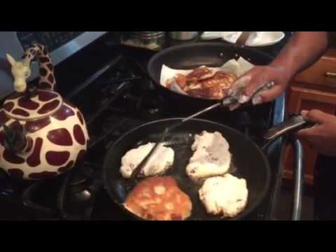 Auntie Fee's Bacon fried Biscuits