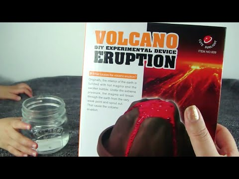 Volcanic Eruption DIY Experimental Device (ages 10+)